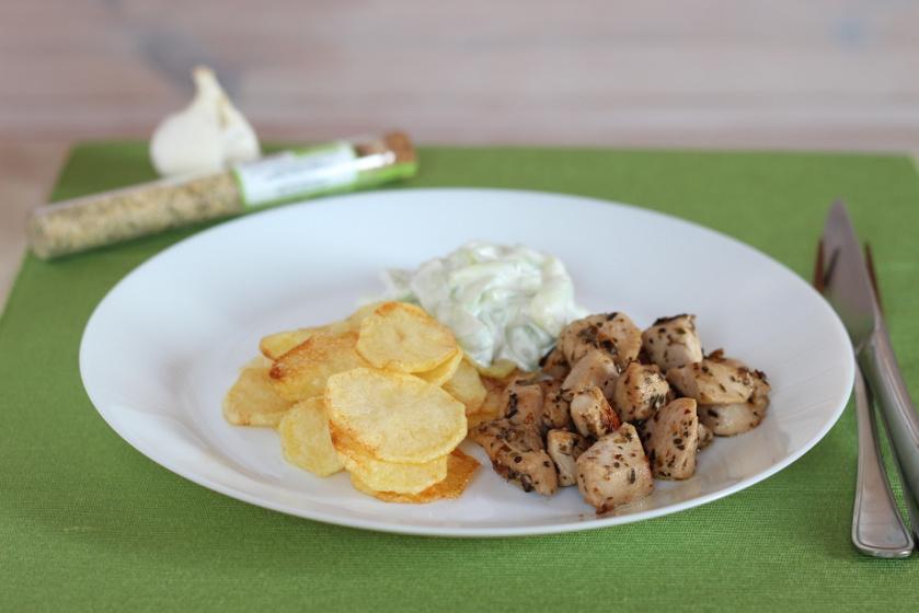 Csirke gyros módra - Görögös ízek a tányéron