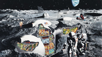 Már a nácik is a hélium-3-ért mentek a Holdra