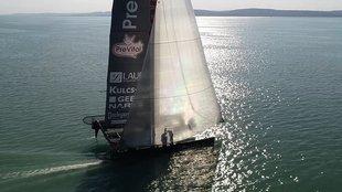 Európa legnagyobb tókerülő versenyét rendezik a Balatonon