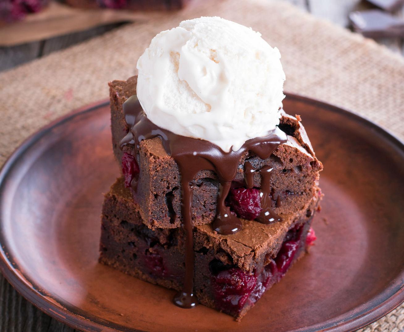 meggyes-brownie