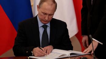 Putyin táviratot küldött Ursula von der Leyennek