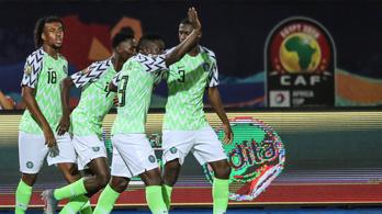 Nyolcadik bronzérmét szerezte meg Nigéria az Afrika-kupán