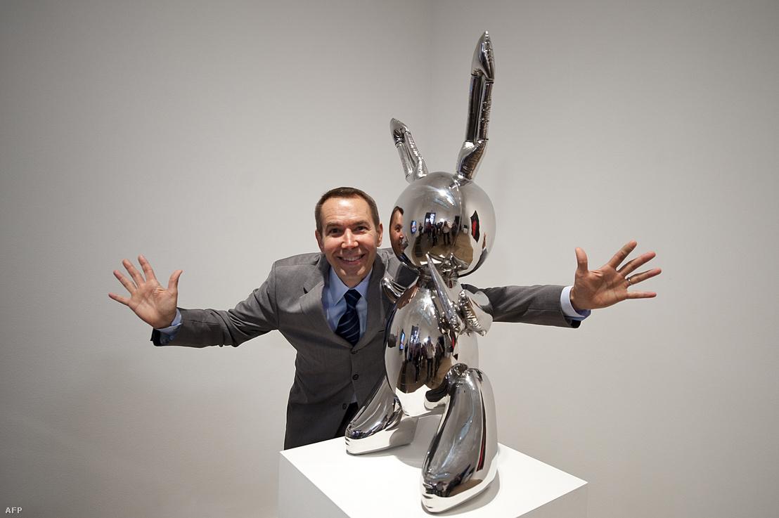 Jeff Koons Nyúl című művével 2009-ben