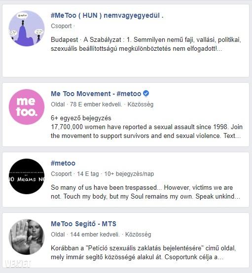 Néhány Facebook csoport, ahol az áldozatok könnyíthetnek a lelkükön
