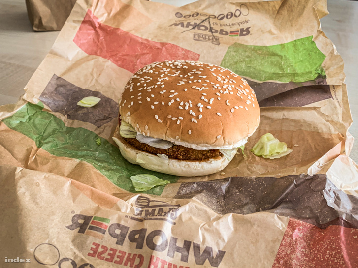 Vega Whopper (Burger King)