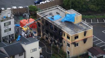 Harminchárom embert megölt egy gyújtogató Kiotóban