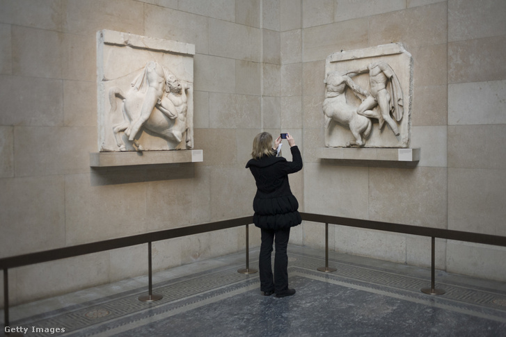 Athéni Elgin-márványok a British Museumban