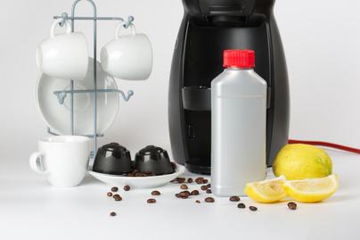 vízkőtleníés, kávéfőző