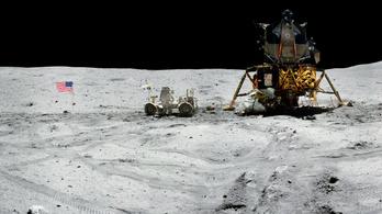Káprázatos fotókat tett közzé a NASA a Hold felszínéről