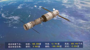 Hamarosan lezuhan a kínai űrállomás