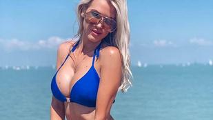 Vasvári Vivien Malajziából, Iszak Eszter Baliról dobott szexizős, bikinis képet