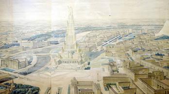 Sztálin 426 méteres felhőkarcolót tervezett saját magának Moszkva közepére
