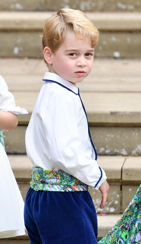 Eugénia hercegnő esküvőjén ő volt a legcukibb koszorúsfiú.