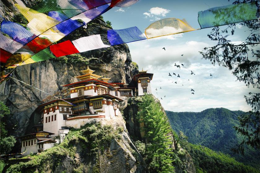 Hiába mérhetetlen nagy a szegénység, Ázsia Svájcának nevezik a boldog országot, Bhutánt