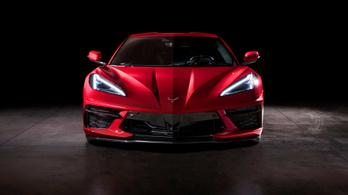Vége az orrmotornak, itt az új Corvette középmotorral