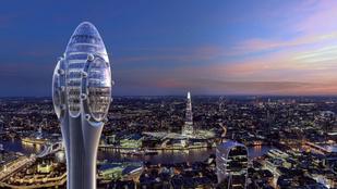 Nem épülhet tulipán formájú felhőkarcoló Londonban