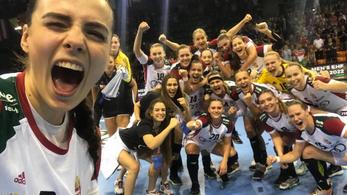 Az oroszokat legyőzve döntős a magyar válogatott a női junior kézilabda Eb-n