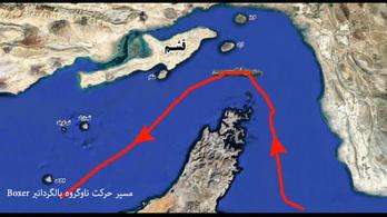 Irán lefoglalt egy brit tartályhajót, állítólag azért, mert iráni halászokkal ütközött
