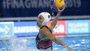 Magyarország-Új Zéland női vízilabda mérkőzés a negyeddöntőbe jutásért