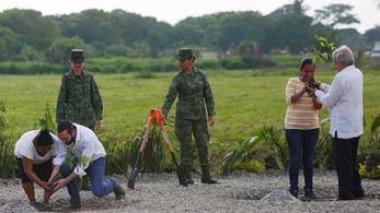 Mexikó faültetéssel küzd a migráció ellen