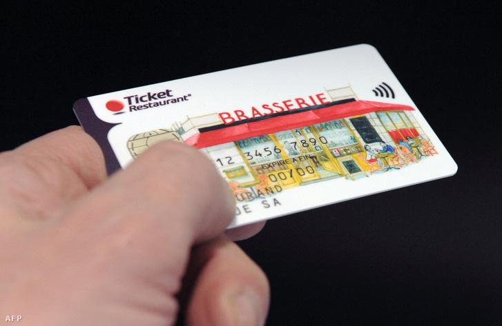 Ticket Restaurant okos kártya az Edenred csoporttól