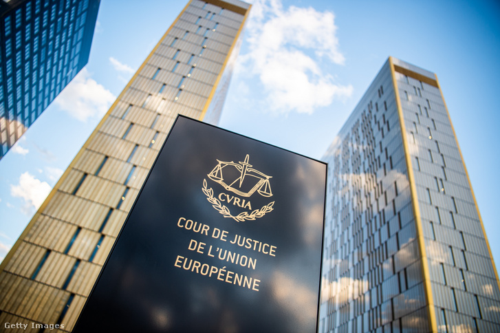 Európai Unió Bíróságának épülete Luxembourgban