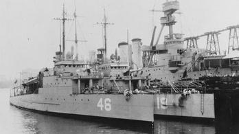 75 éve elsüllyesztett amerikai hadihajót találtak Maine partjainál