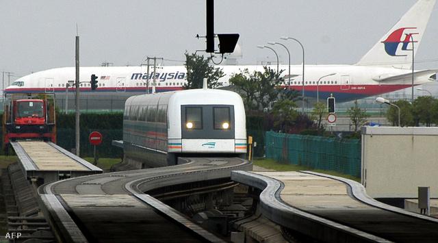 A reptéri mágnesvonat Shanghaiban. Ilyen biztosan nem lesz