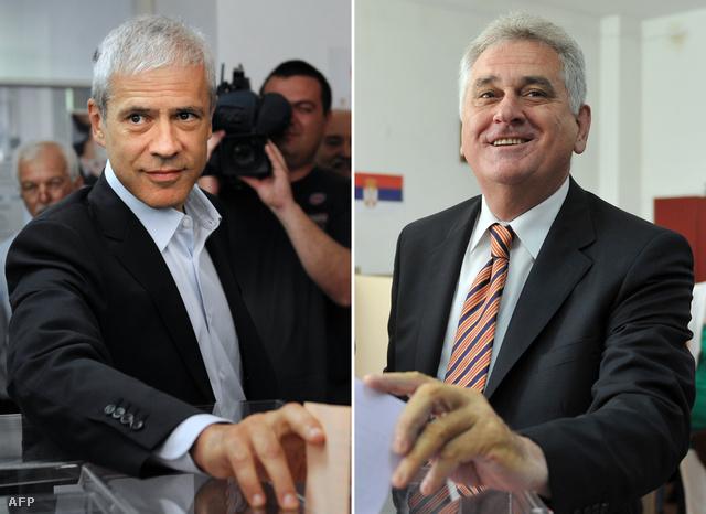 Boris Tadić és Tomislav Nikolić