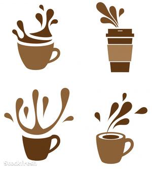 stockfresh 940924 coffee-cup-with-splash sizeM