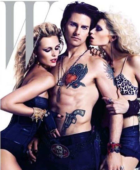 Tom Cruise a W magazin címlapján