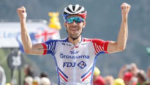 Tovább tart a francia csoda a Tour de France-on