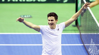 Bravúr: ATP-tornán döntős a teniszező Balázs Attila