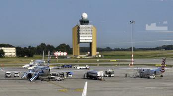 Két munkagép ütközött a ferihegyi repülőtéren