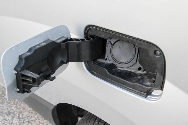 Az üzemanyagnyílás megmaradt, sosem lehessen tudni...
