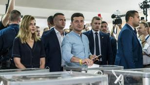 Az újonc párt győzött Ukrajnában
