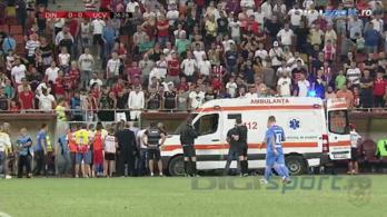Bajnoki közben kapott szívrohamot a Dinamo Bukarestet edző volt Fradi-labdarúgó