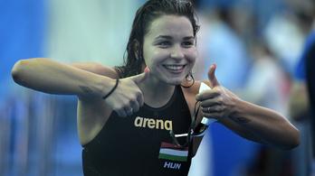 Késely Ajna döntős 1500 méter gyorson a vizes vb-n