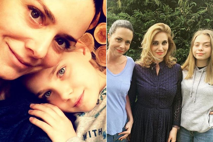 Hanni (balra) és Emma is (jobbra) elsősorban Kinizsi Ottóra hasonlít, a gyönyörű kék szemüket és a hajuk színét is tőle örökölték.