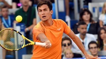 66 helyet javított a magyar teniszező a világranglistán