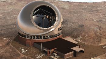 Hawaiin szükségállapotot hirdettek egy tervezett teleszkóp miatt