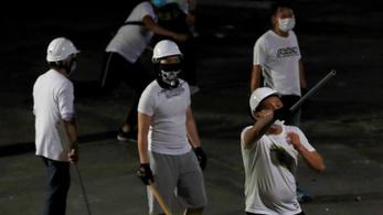 Hiába kértek segítséget a botokkal megvert tüntetők