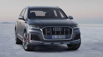 Ráncfelvarrást kap a 430 lóerős Audi SQ7