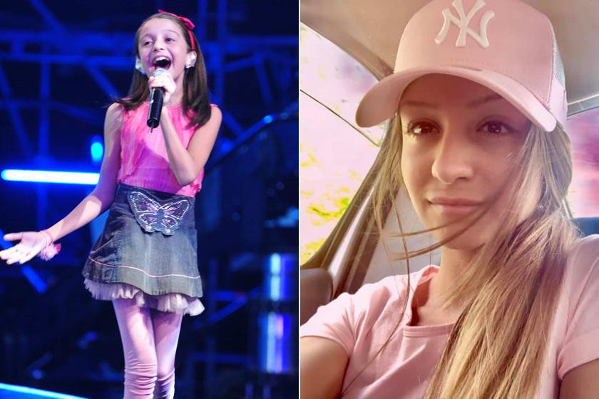 Barna hajú, cuki kislányként ismertük meg a Megasztár ötödik szériájában. A 11 éves lánykából 20 éves, szőke nő lett.