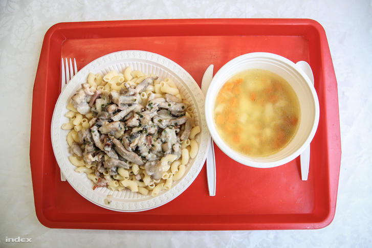 Napi menü, leves és tokány