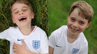 György herceg ma hat éves és kiesett a foga