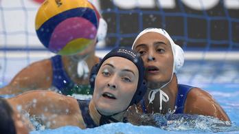 Olaszország-Magyarország 6-7, vb-elődöntős a női pólóválogatott