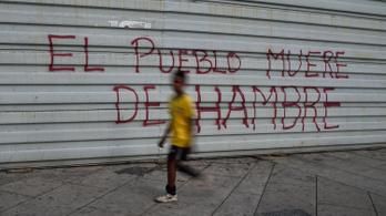 A venezuelaiak több mint ötöde alultáplált