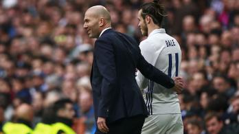 Gareth Bale ügynöke szerint szégyen, amit Zidane csinál