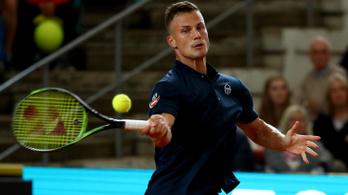 Fucsovics simán győzött, nyolcaddöntős Hamburgban
